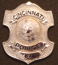 Police Officer Charles Burdsall 's Badge