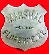 Badge Florence Marshal PAGE