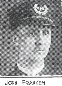 Patrolman John A. Franken| Cincinnati Police Department
